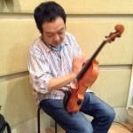 楽器整体、バイオリンの巻!