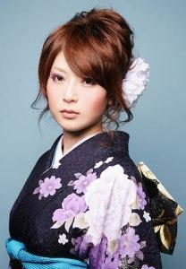 成人式 髪型 人気 ロング アップ3
