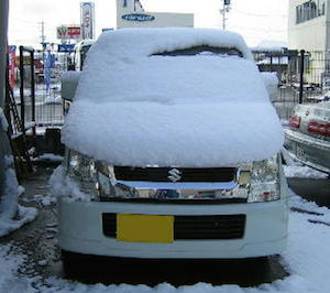 車、雪下ろし、道具、方法、2