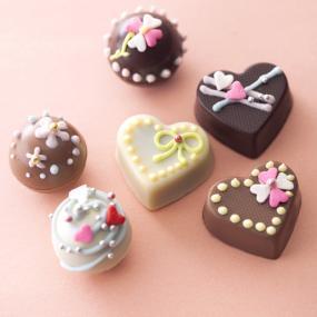 バレンタイン、チョコ、デコ、手作り、4