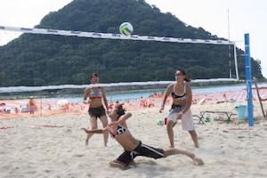 ビーチ 遊び 、1
