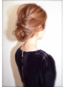 結婚式 ミディアム 髪型 ゲスト 女性、2