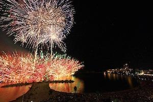 白浜花火大会、穴場、2015、日程、スポット,1