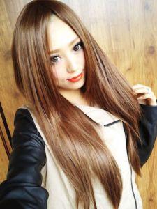 秋 髪型 ロング レディース 人気