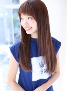 冬 ロング 髪型 レディース 人気、2