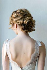 花嫁 髪型 結婚式 ウェディングドレス 7