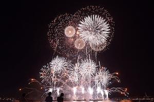 横浜開港祭花火大会 2016 日程 スポット 4