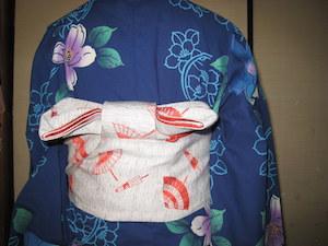 浴衣 帯 結び方 簡単 4