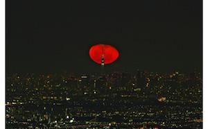 月 地震 予兆 月が赤い 1