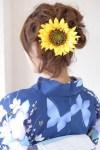 浴衣の髪飾りを手作り!簡単な作り方や人気のデザインや色は?