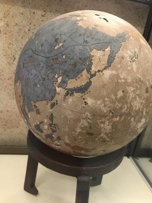 江戸時代の地球儀 岐阜城 金華山