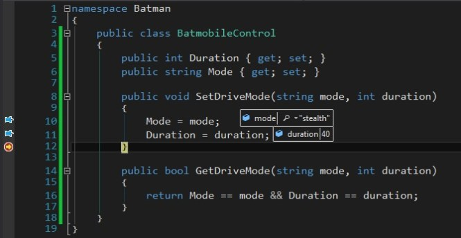 Specflow passing data to step definitions