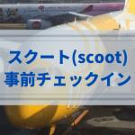 【2021年版】スクート(scoot)は手荷物2個まで、合計10kg以内なら機内持ち込み可能