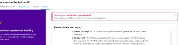 Twitterに登録したメールアドレスが変更できない時の対処法