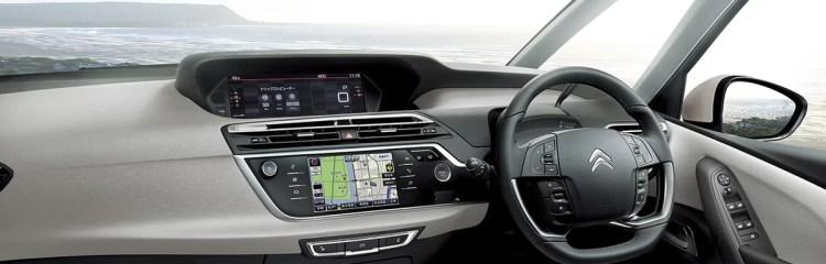 シトロエン新型グランドC4ピカソの内装を画像でレビュー!オシャレ感と実用性が高次元で融合。レザーパッケージがヤバイ!