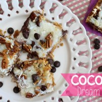 Recipe: Coconut Dream Bars