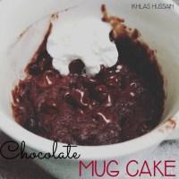 Recipe: Chocolate Mug Cake