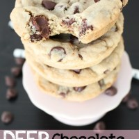 Recipe: Deep Dish Chocolate Chip Cookies