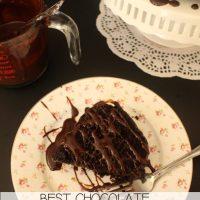 Recipe: Best Chocolate Bundt Cake with Chocolate Sauce