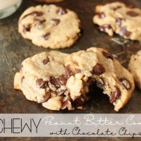 Recipe: Chewy Peanut Butter Cookies with Chocolate Chips