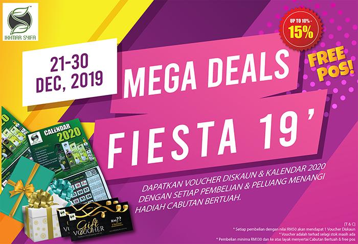 mega deals fiesta 2019