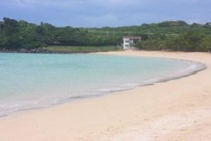 海水浴場(今年もAAランクの筒城浜)