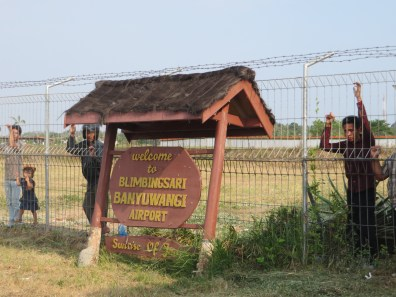 Tiny airport in East Java