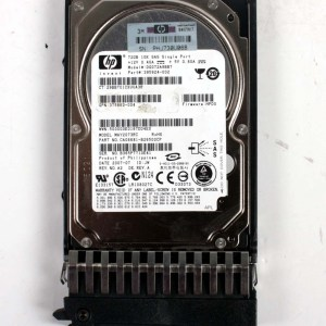 """HP 72.0GB 10K SAS 2,5""""Harddisk & Kızak 395924-002 DG072A9BB7 376597-001"""