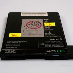 "IBM Thinkpad A31 3.5"" 1.44MB Floppy + Rail 27L4378, 08K9606 08K9607"