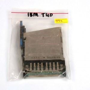 IBM Thinkpad T40 T41 T42 T43 PCMCIA Card Slot 03145NC 03153TD5 91P8391