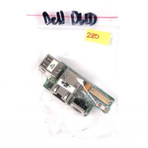 DELL D610 (PP11L)  USB Video OUT Network Jack Board DA0JM5LBAG3 DAJM5DLBAAA5