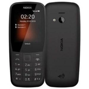 NOKIA 220 Siyah Tuşlu Telefon