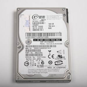 "IBM 146GB 10K 2.5"" SAS Hard Drive  43X0825 HUC101414CSS300"