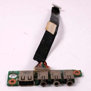 CLEVO M765T USB & Audio Port /W Cable 6-43-M76S0-052 6-71-M74SA-D03A