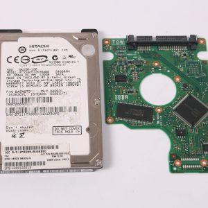 HITACHI HTS542512K9SA00 120GB 2,5 SATA HARD DRIVE / PCB (CIRCUIT BOARD) ONLY FOR DATA
