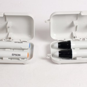 4 ADET EPSON Interactive Pen Orange & Blue /W Box ELPPN03A
