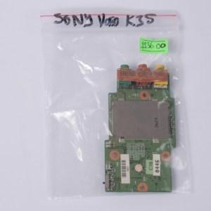 SONY PCG-9S1L PCG-K25 K33 K35 K37 K45 K47 Sound Board & Card Reader A1071988A 7152136