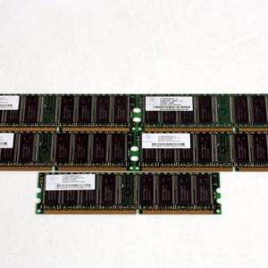 5 ADET NANYA 256MB DDR PC2700U 400MHz NT256D64S88C0G-6K