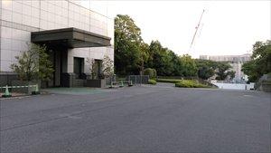 東京国立博物館~障害者用駐車