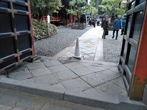 車椅子で参拝 根津神社 文京つつじまつりバリアフリー情報