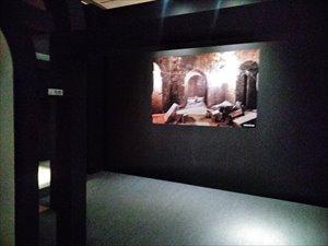曹操の墓「曹操高陵」のイメージ再現展示