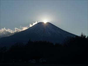 ダイヤモンド富士の鑑賞方法