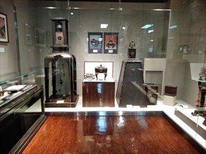 和時計コレクション」展示室