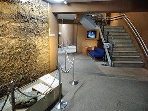 将軍山古墳展示館のバリアフリー状況