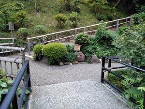 庭園のバリアフリールート