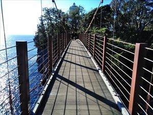 城ケ崎海岸門脇吊橋