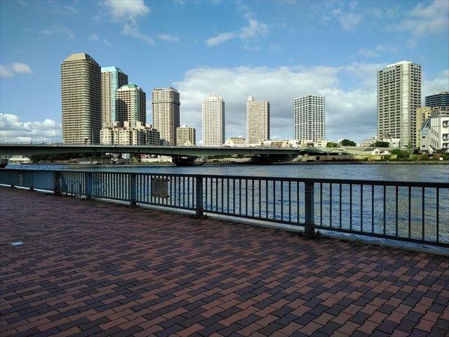 明石町河岸公園・隅田川テラス 車椅子散策ガイド バリアフリー情報