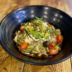 Detox Salad Soba (豆腐とアボカドのサラダ蕎麦)