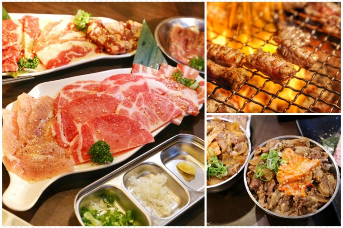 焼肉Yakiniku SHOJO台中公益店 台中燒肉推薦伊比利豬肋條、牛橫隔膜,燒肉套餐