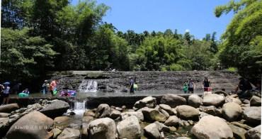 新北雙溪|雙溪玩水秘境清水坑,免費親子玩水景點,記得帶泳圈玩水,適合烤肉野餐